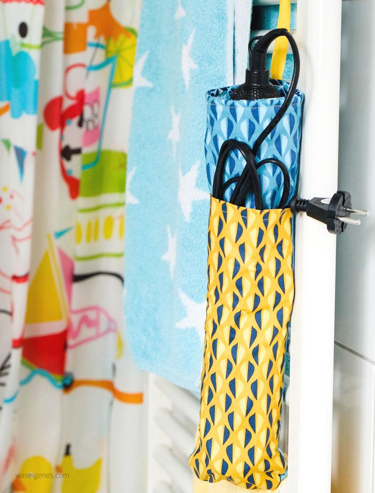 Für die Reise: DIY Lockenstab Tasche selber nähen | waseigenes.com
