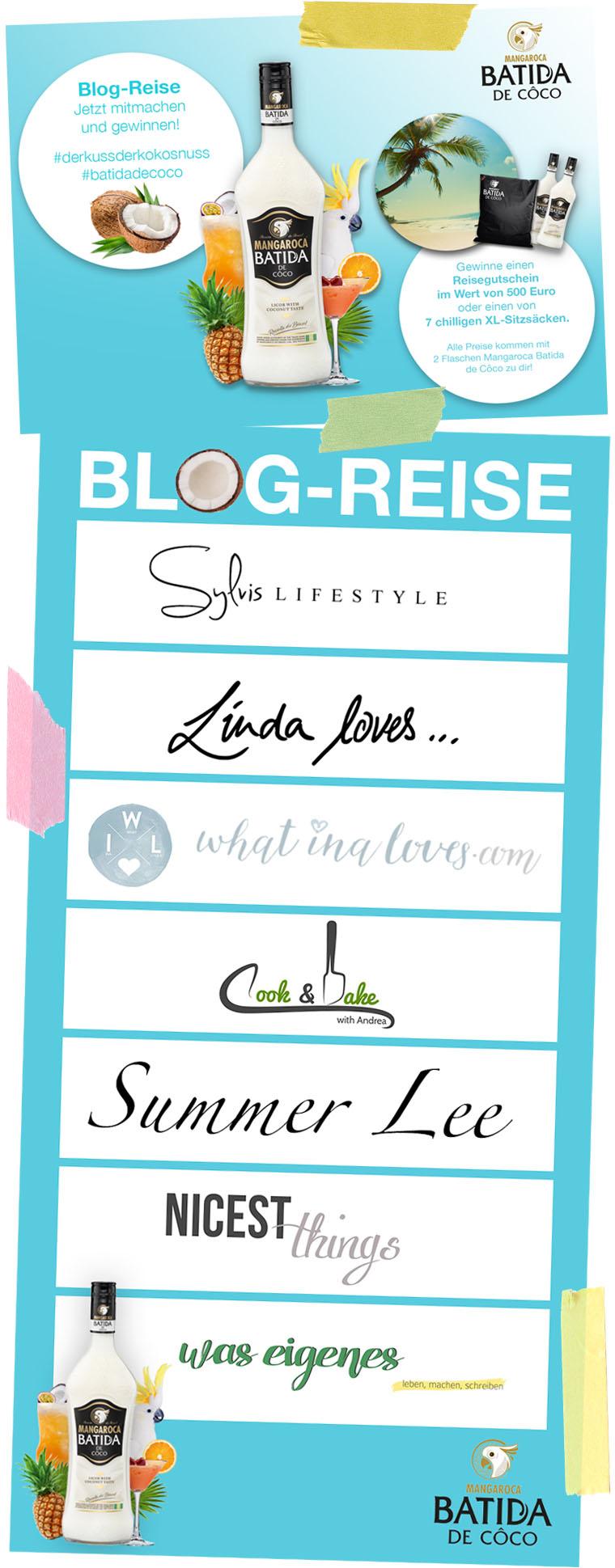 Blogreise #DerKussderKokosnuss | Batida de Coco | waseigenes.com