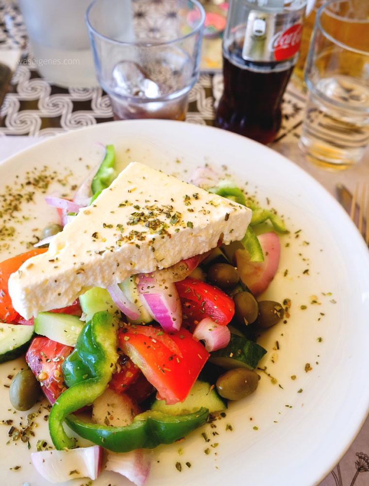 Kreta | Crete | Griechischer Salat | waseigenes.com