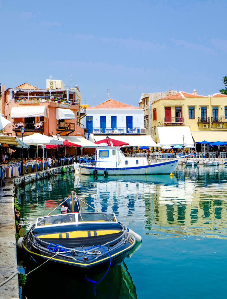 Travel Kreta: Der Hafen von Rethymno {Rethymnon} | Griechenland | waseigenes.com