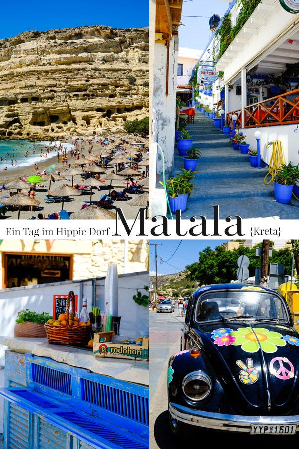Ein Tag im Hippie Dorf Matala | Kreta | waseigenes.com