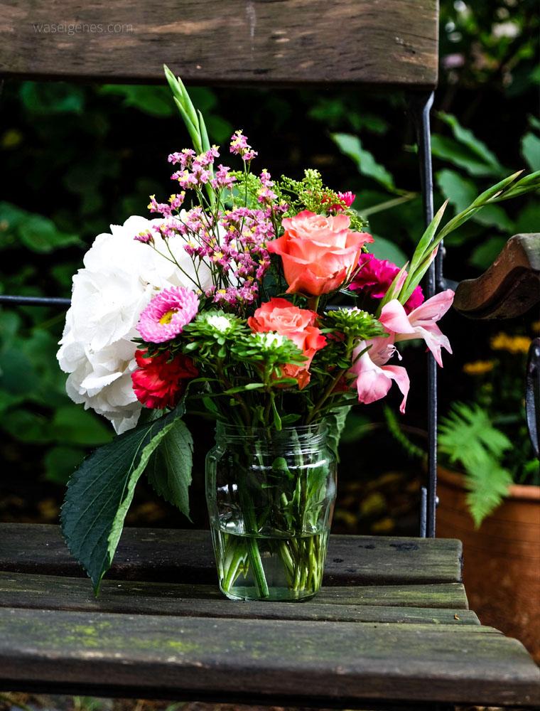 Sei willkommen, lieber Herbst | Blumenstrauß | waseigenes.com