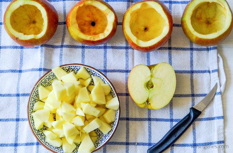 Rezept: Apple Pie Bratapfel | Schritt für Schritt Backanleitung | waseigenes.com