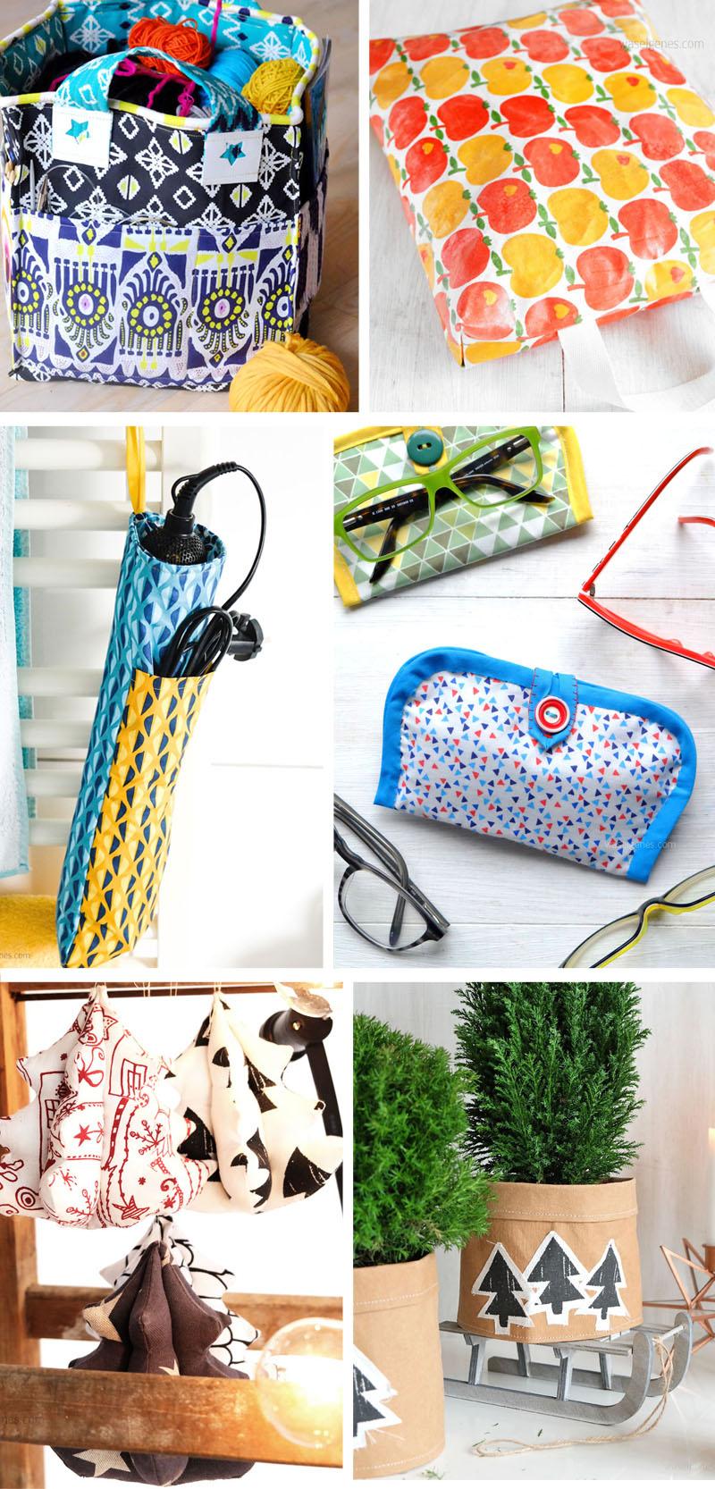 12 Ideen für selbst genähte Weihnachtsgeschenke | DIY & nähen | waseigenes.com DIY Blog
