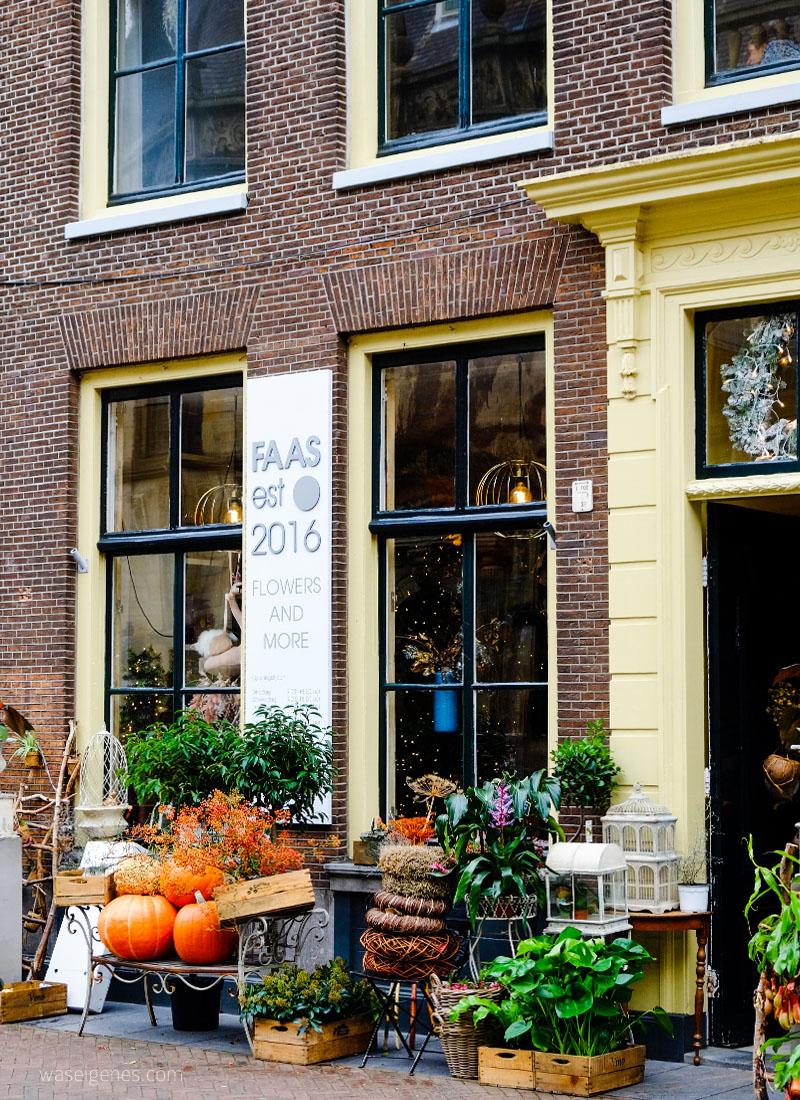 Ein Vormittag in Leiden | Stadt Leiden in der niederländischen Provinz Südholland | Faas est 2016 Flowers & More | waseigenes.com