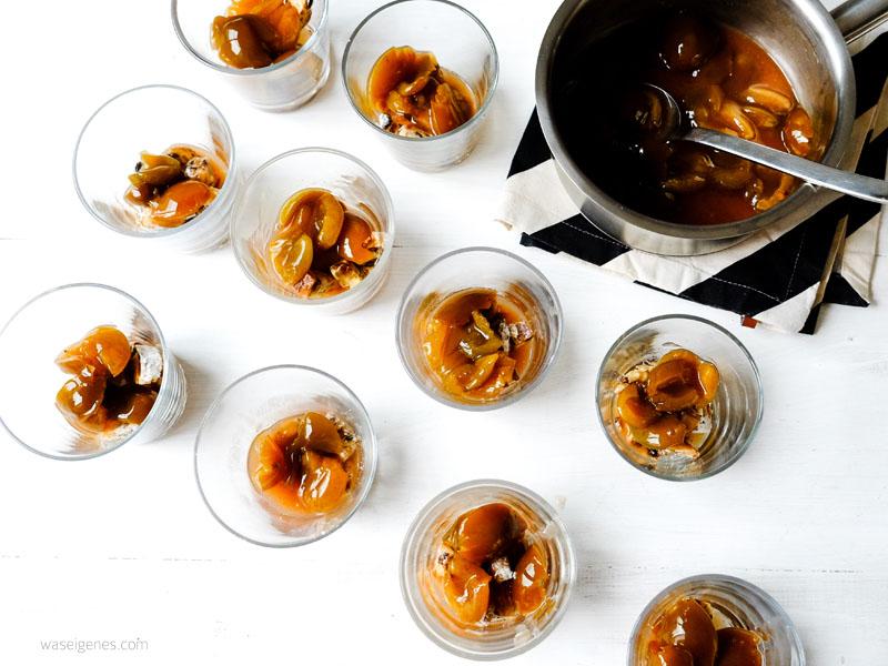 Rezept Stollen Pflaumen Tiramisu mit Amaretto und Krokant | waseigenes.com Blog