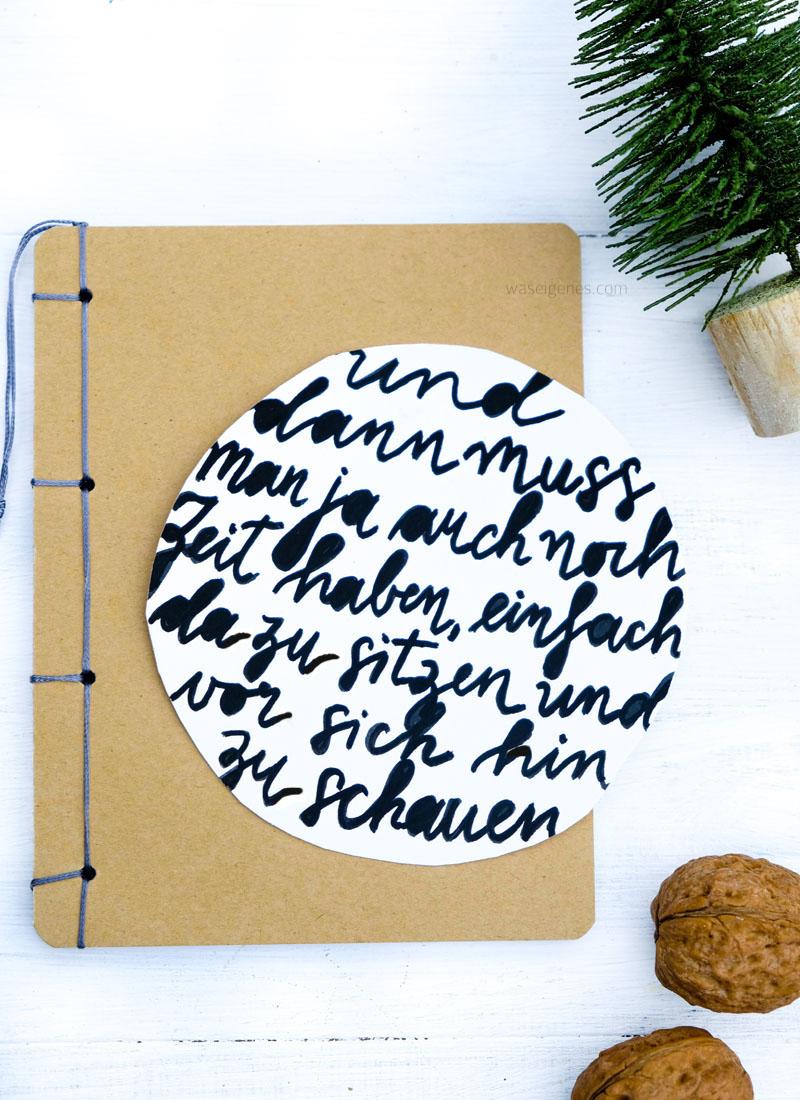 Und dann muss man ja auch nicht Zeit haben, einfach da zu sitzen und vor sich hin zu schauen | Astrid Lindgren | Adventskalender der guten Gedanken | waseigenes.com