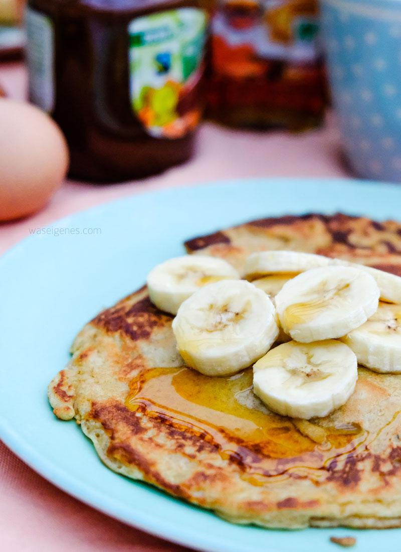 Rezept: Bananenpfannkuchen mit Ahornsirup | waseigenes.com