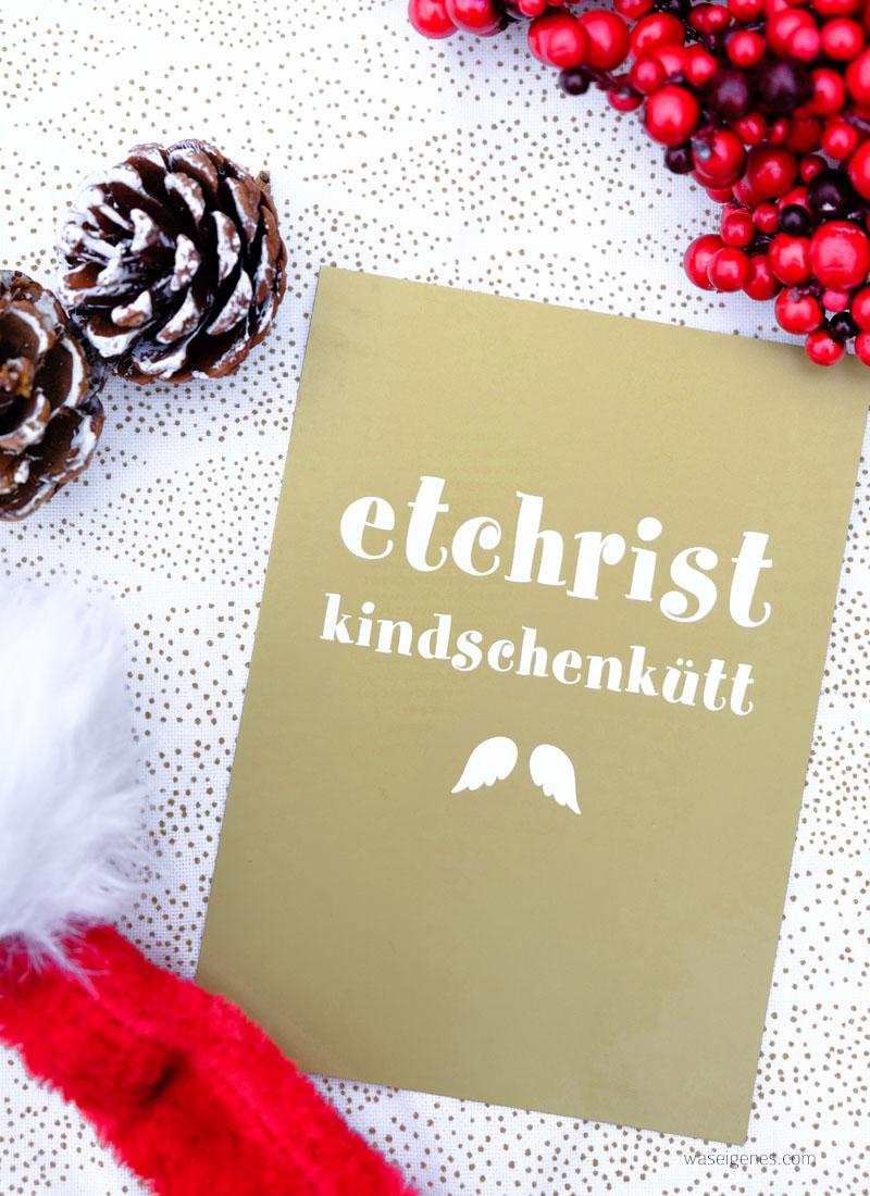 etchristkindschenkütt | Adventskalender der guten Gedanken & Wünsche | Postkarte von cityproducts.de | waseigenes.com