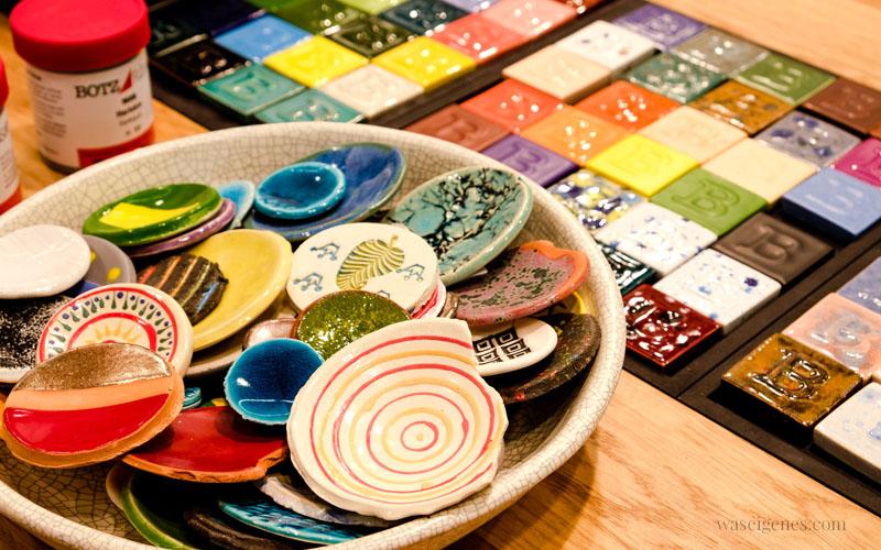 Bunte Keramikscherben von Botz, glasierte Keramik, selber machen | waseigenes.com
