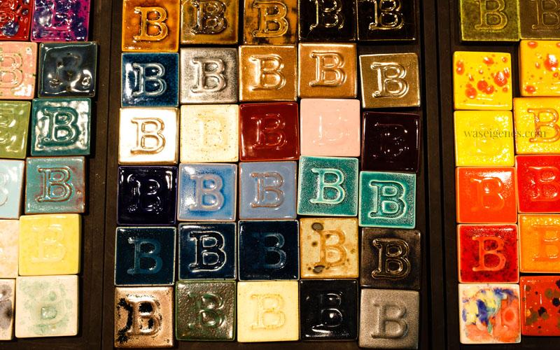 Keramikplatten in allen Farben, selbst gemacht mit Glasuren der Firma Botz | waseigenes.com