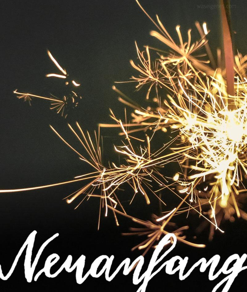Neuanfang. | Hallo 2018! | waseigenes.com