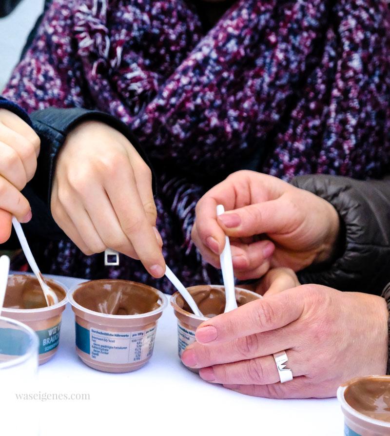 Wieviel Zucker brauchst du noch? #dubistzucker, REWE Deine Wahl, Schokoladenpudding Tasting | waseigenes.com