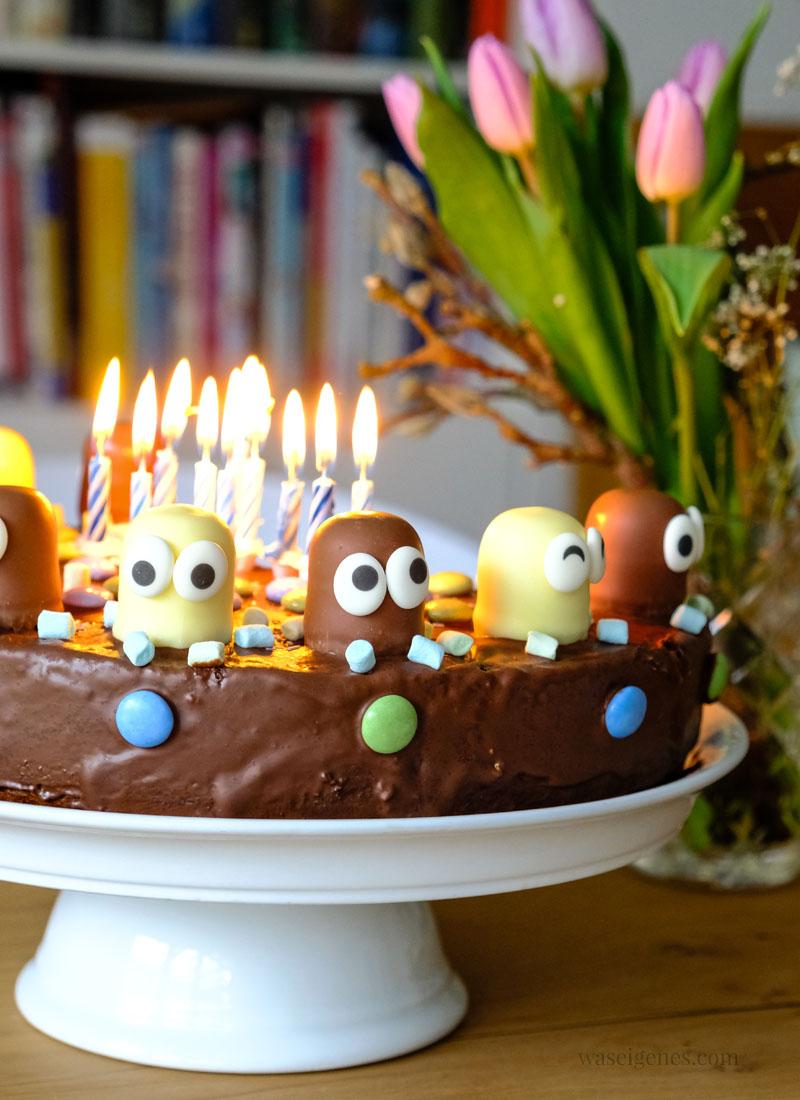 Schokokusskuchen Geburtstagskuchen Marmorkuchen Mit Schokokussen