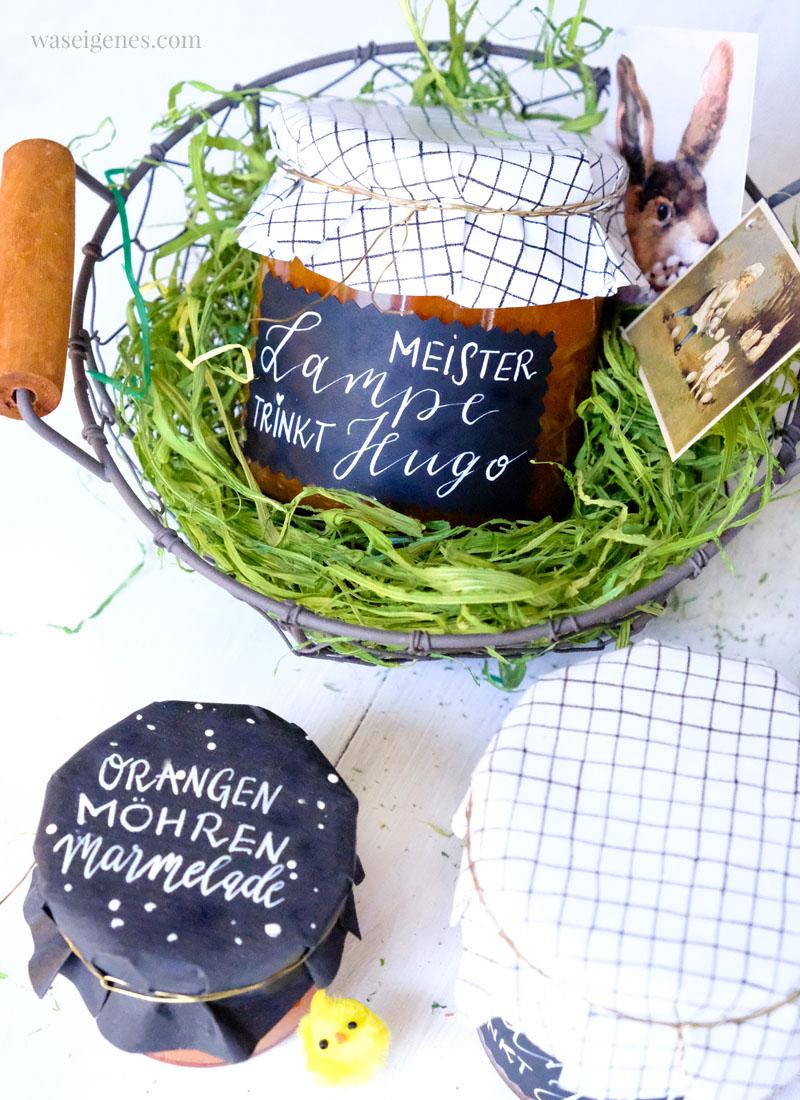Rezept: Orangen Möhren Marmelade | Meister Lampe trinkt Hugo | Ostermarmelade | waseigenes.com