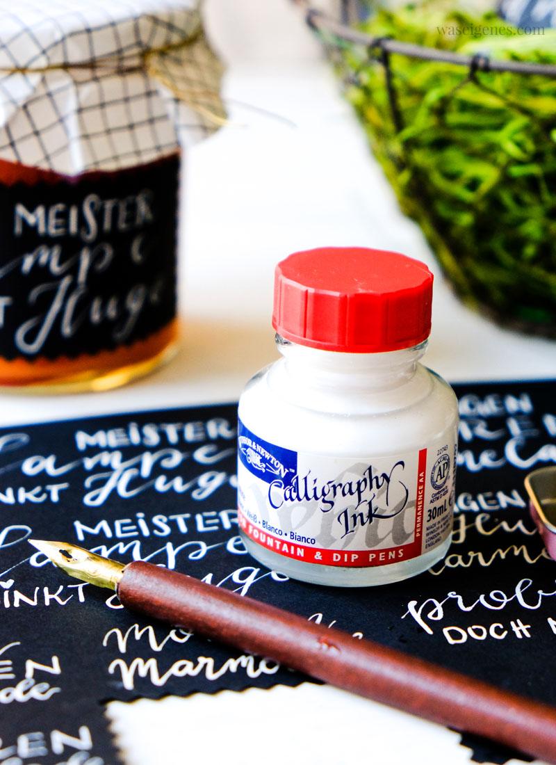 Rezept: Orangen Möhren Marmelade | Meister Lampe trinkt Hugo | Kalligraphie Etiketten | Ostermarmelade | waseigenes.com
