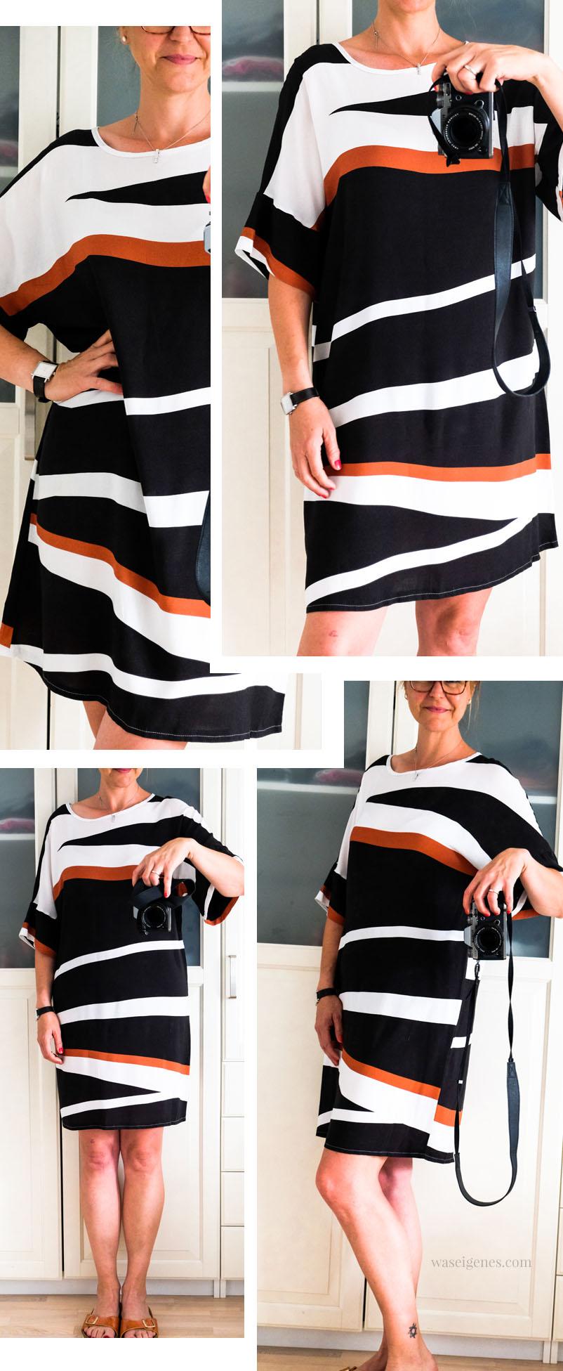 DIY Sommerkleid | selbst genähtes Sommerkleid aus Blockstreifen Viskose | waseigenes.com