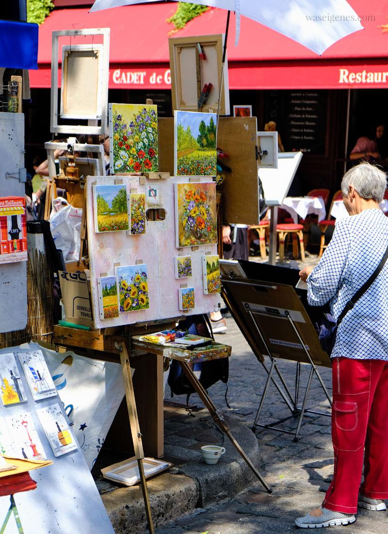 Paris Montmartre | Place du Tetre | waseigenes.com