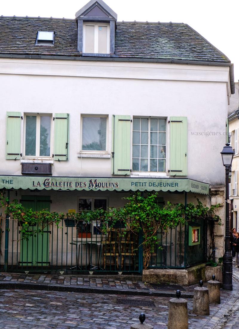 Paris: Montmartre | La Galette des Moulins / Rue Norvins | waseigenes.com