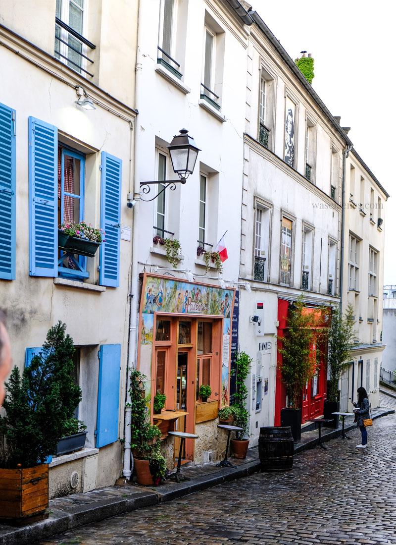 Paris: Montmartre | Rue Norvins | waseigenes.com