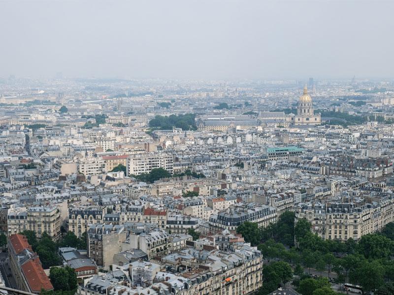 Sightseeing Paris: Der Eiffelturm | Ausblick über Paris waseigenes.com
