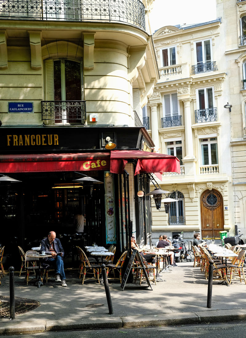 Sightseeing Paris | waseigenes.com - Straßencafé