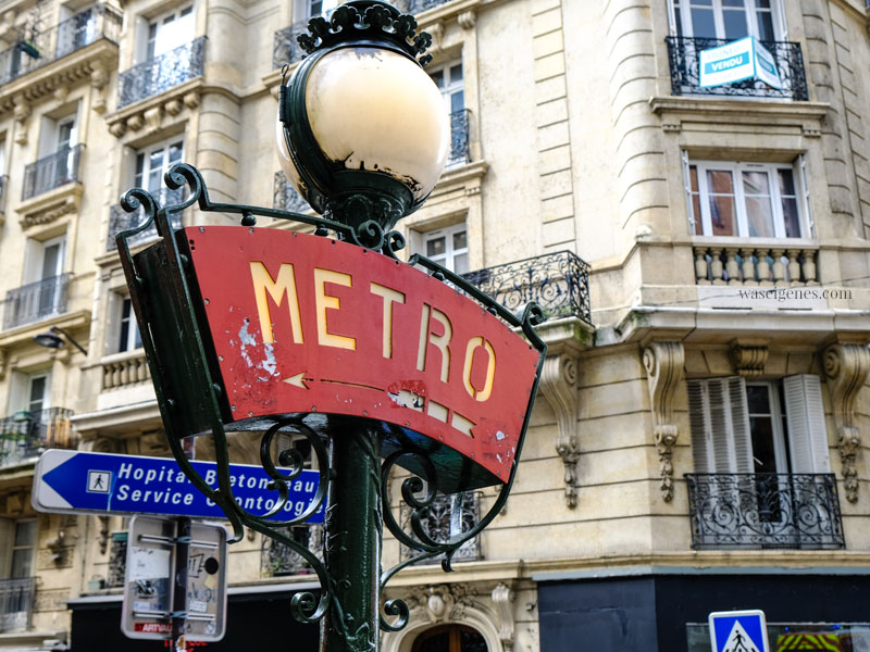Sightseeing Paris | waseigenes.com - Metro