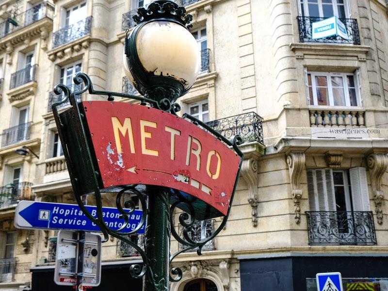 Sightseeing Paris | waseigenes.com - Metro