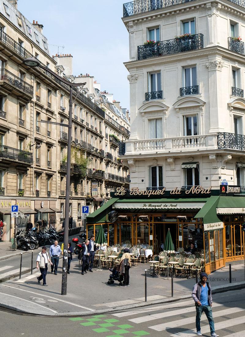 Sightseeing Paris | waseigenes.com - Straßencafé Le Bouquet du Nord
