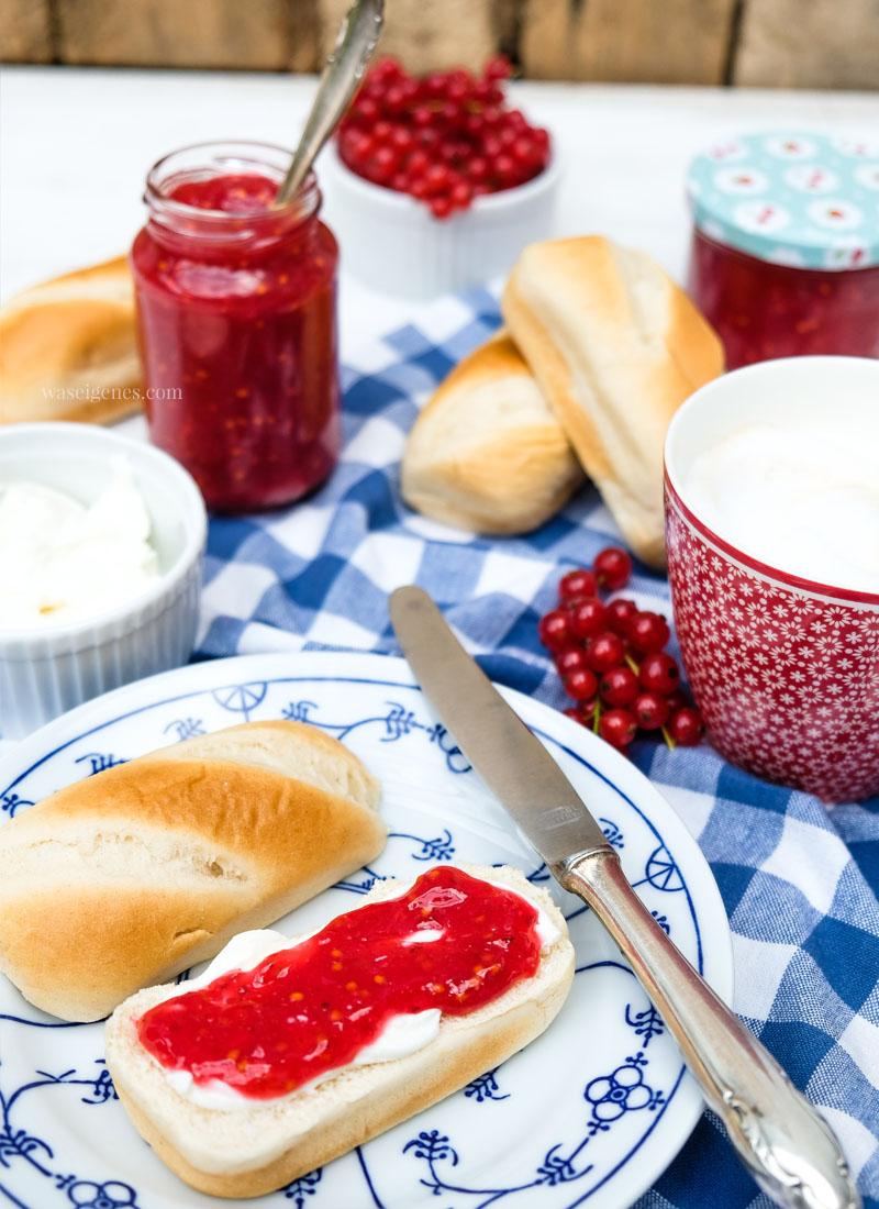 Johannisbeer Fruchtaufstrich selber machen | waseigenes.com