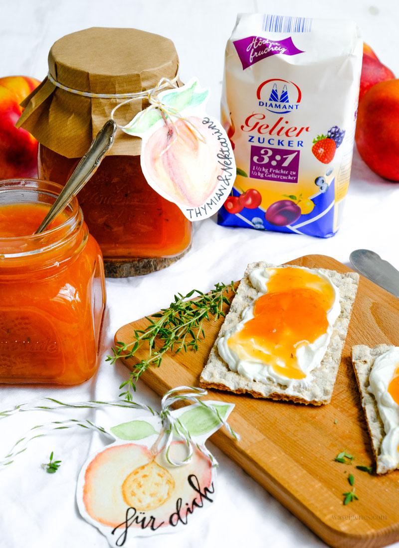 Rezept | Geschenk aus der Küche: Nekatrinen Thymian Marmelade | waseigenes.com