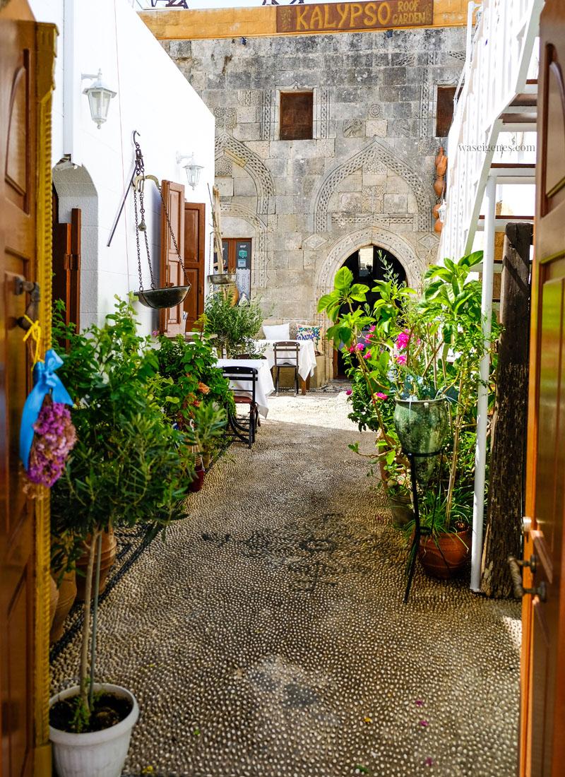 Rhodos: Lindos |Taverne | waseigenes.com