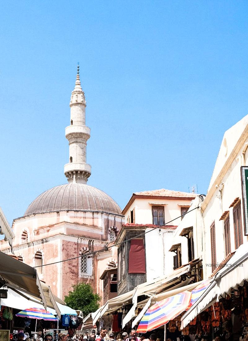 Griechenland - Rhodos Stadt | Städtetour | waseigenes.com