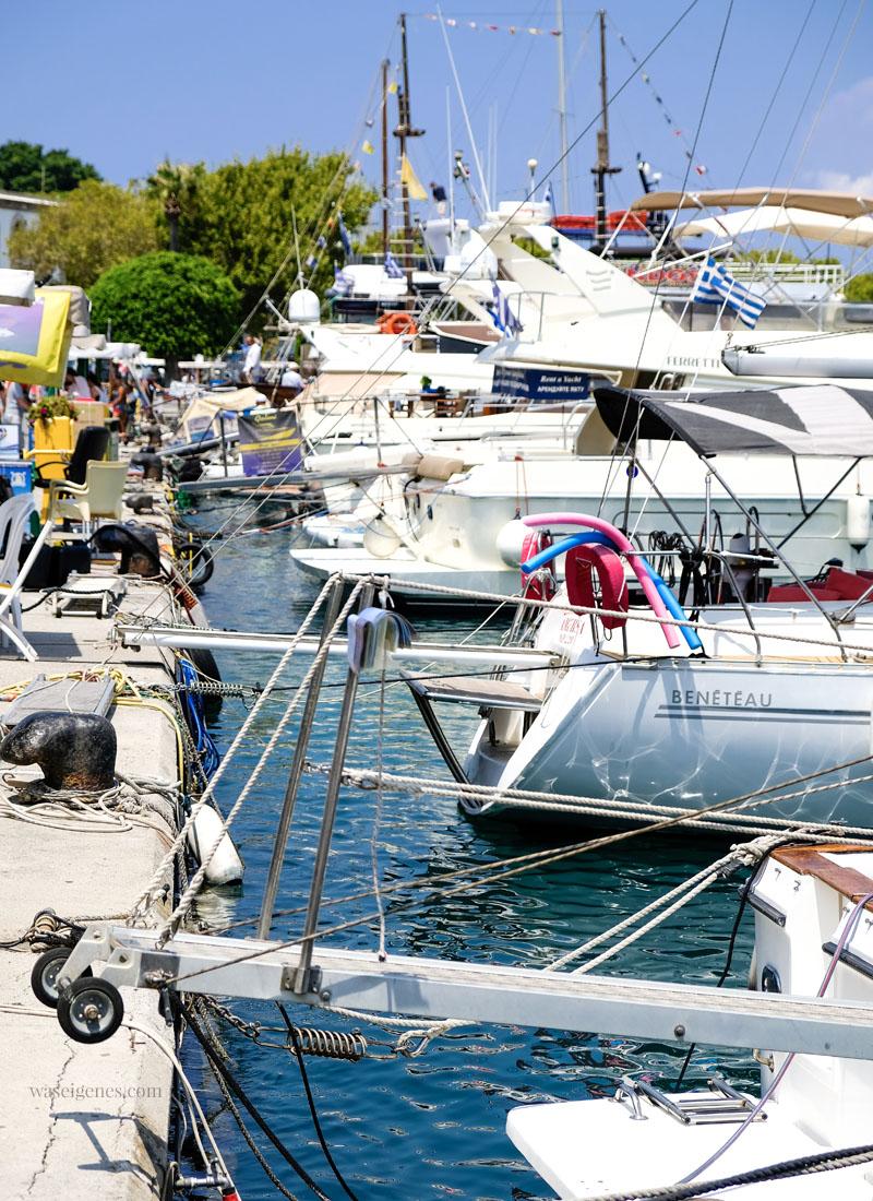 Griechenland - Rhodos Stadt | Hafen | Städtetour | waseigenes.com