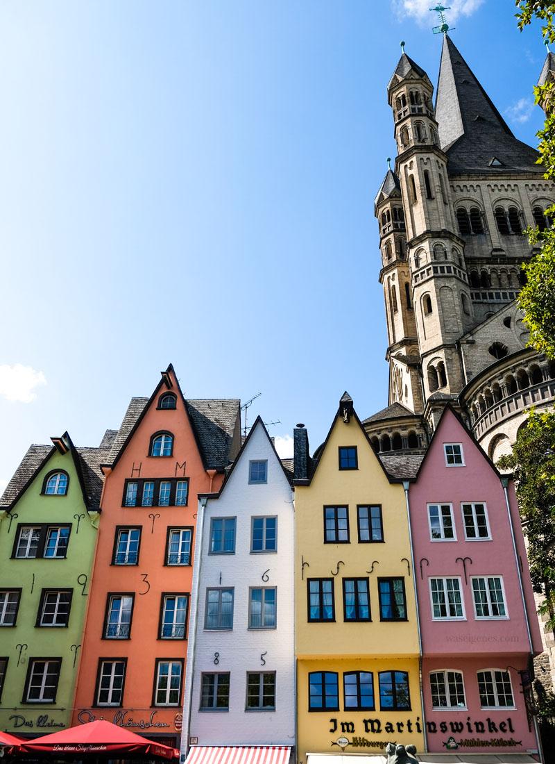 Stadtführung durch Köln | Sightseeing Köln | waseigenes.com - Fischmarkt Groß St. Martin