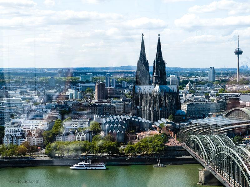 Stadtführung durch Köln | Sightseeing Köln | waseigenes.com - Kölner Dom Hohenzollernbrücke
