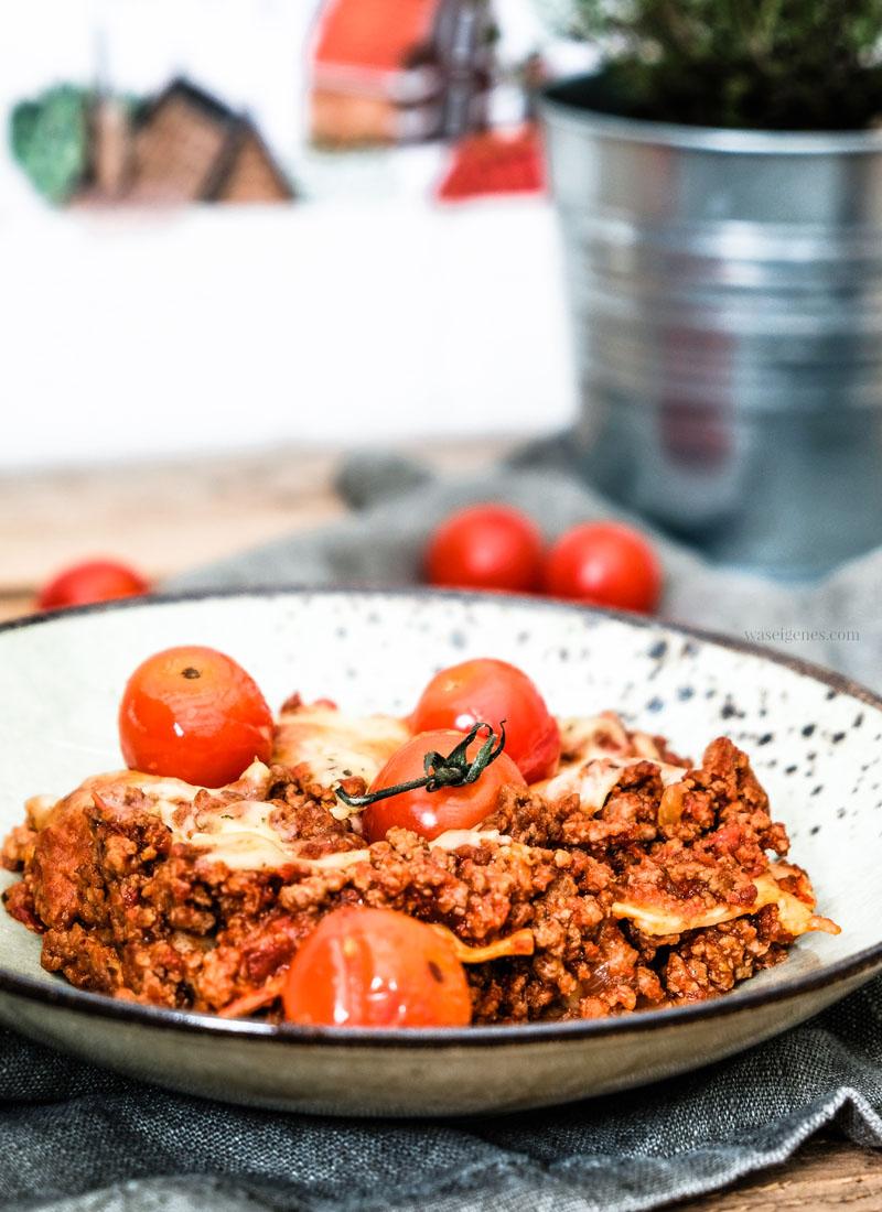 Rezept Lasagne | waseigenes.com