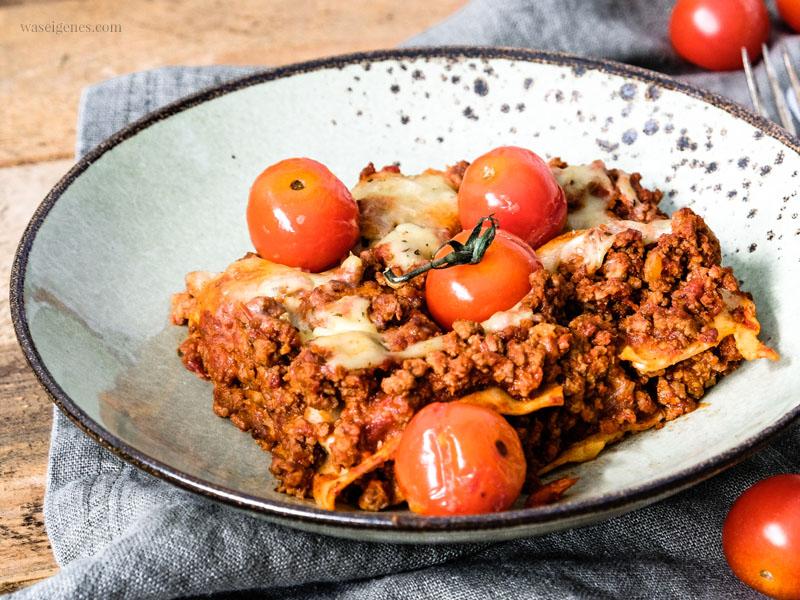 Lieblingsrezept: Lasagne | waseigenes.com