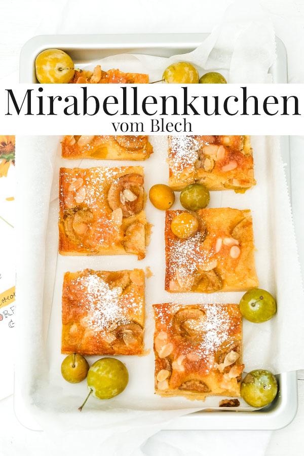 Rezept: Mirabellenkuchen vom Blech | waseigenes.com