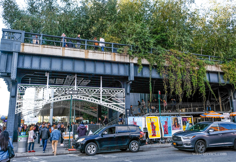 Travel New York City: Über die High Line in den Meatpacking District, waseigenes.com #highline #newyork #meatpackingdistrict