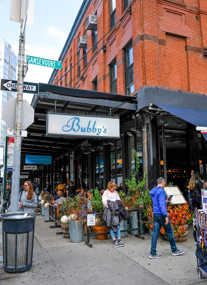 Travel New York City: Meatpacking District, Restaurant Bubby's, waseigenes.com #newyork #meatpackingdistrict #bubbys