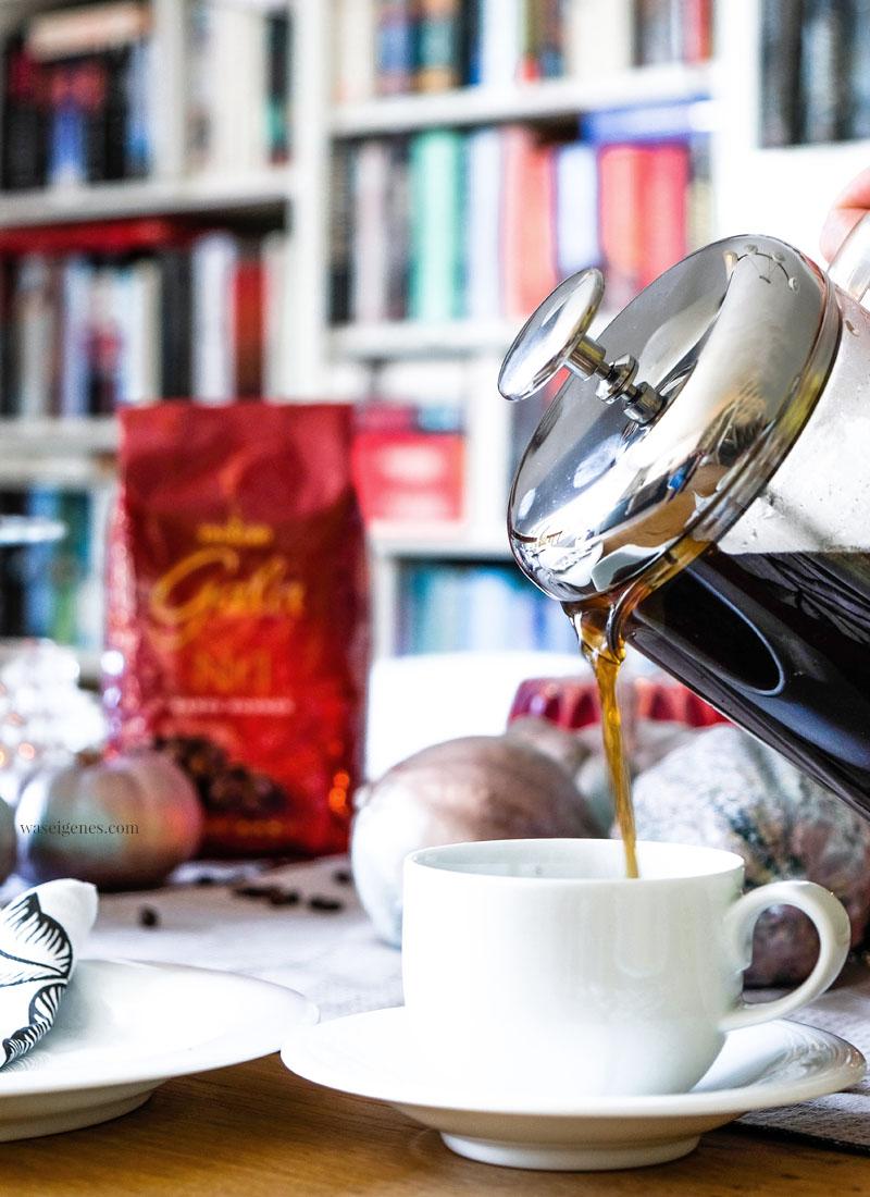 Kaffee | French Press Kaffeezubereitung | Gala von Eduscho | waseigenes.com
