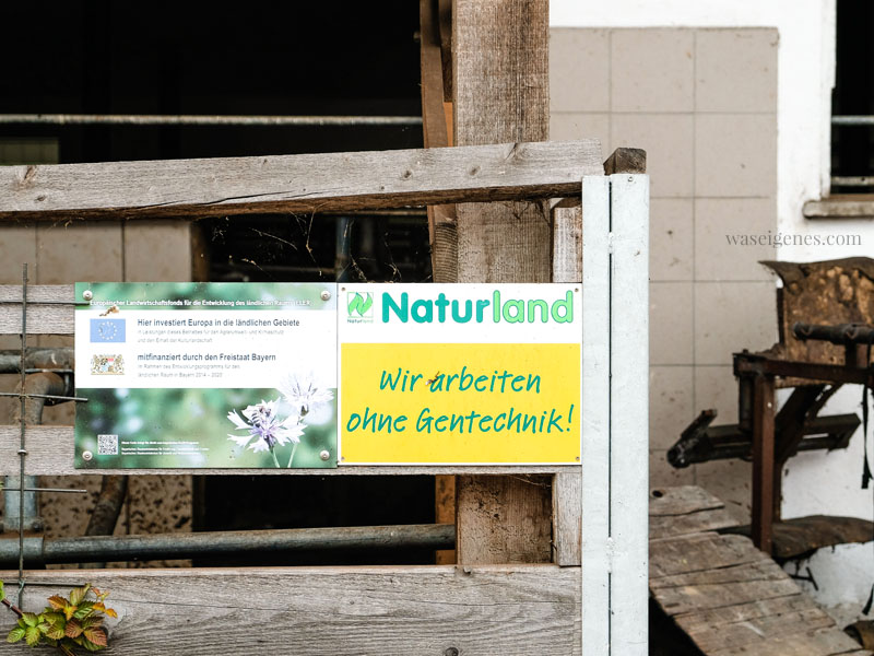 Bio-Bauernhof Jackelhof Bayern | Naturland - wir arbeiten ohne Gentechnik | weil Bio nicht gleich Bio ist | waseigenes.com