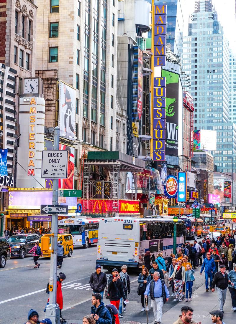 Städtereise New York City, Manhattan, Sightseeing, travel new york, Madame Tussauds, waseigenes.com