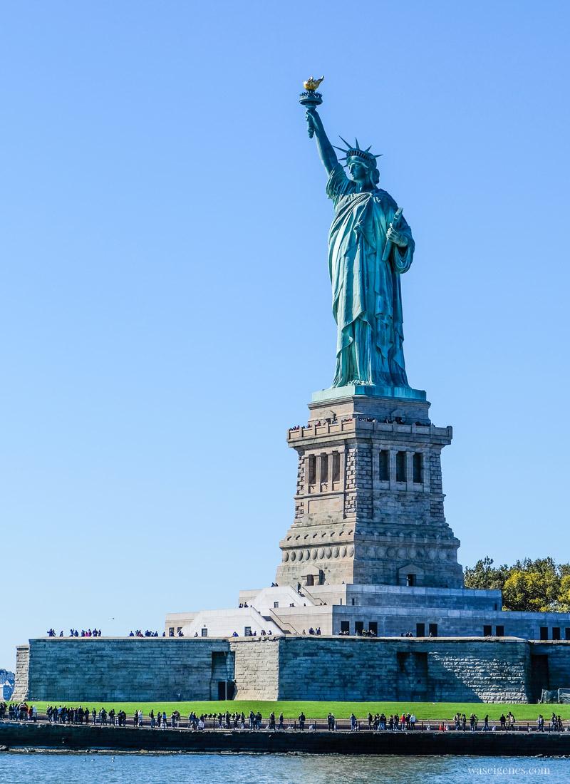 Travel New York City, Manhattan, Sightseeing, Städtereise, Statue of Liberty, Freiheitsstatue, waseigenes.com