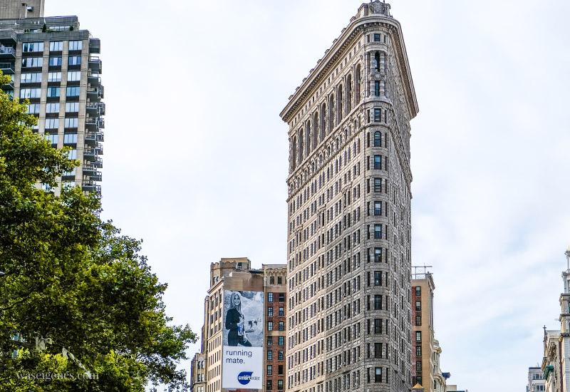 Städtereise New York City, Manhattan, Sightseeing, travel new york, Flatiron Building, waseigenes.com