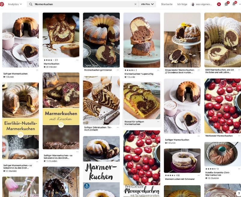 Pinterest Dauerbrenner: der weltbeste Marmorkuchen | So nutze ich Tailwind zum Planen meiner Pinterest Bilder | Mein Tailwind-Pinterest-Workflow | waseigenes.com