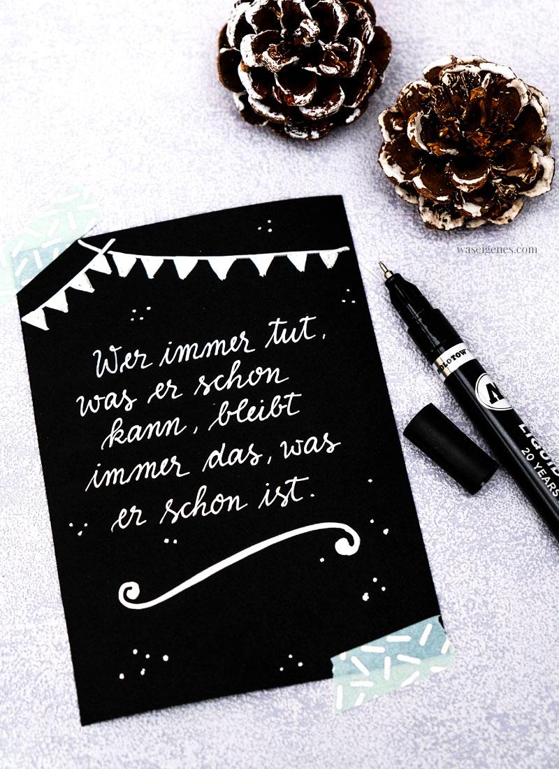 Adventskalender der guten Gedanken & Wünsche ~ Türchen Nr. 6: Wer immer tut, was er schon kann, bleibt immer das, was er schon ist.{Henry Ford}, waseigenes.com