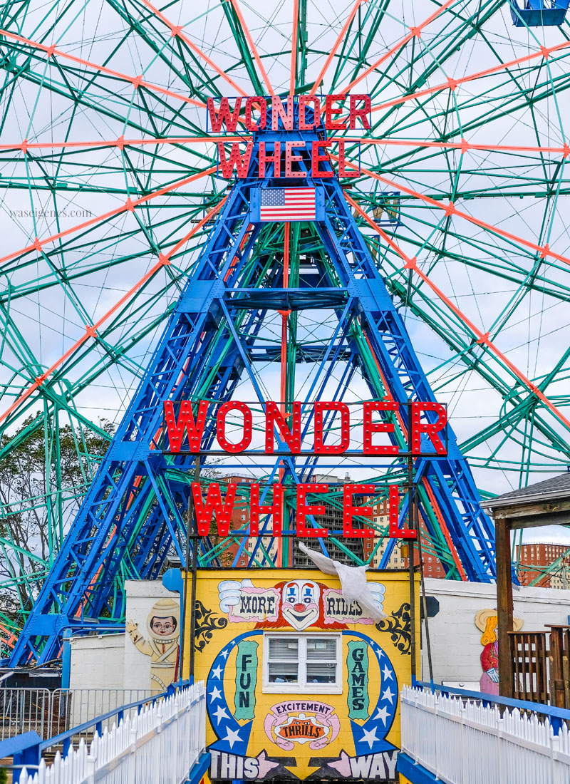 Travel New York City: Coney Island Vergnügungspark, waseigenes.com #coneyisland #newyorkcity #brooklyn #kirmes #vergnüngungspark