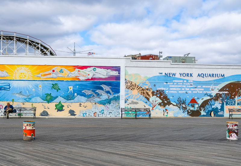 Travel New York City: Coney Island Vergnügungspark, waseigenes.com #coneyisland #newyorkcity #brooklyn #kirmes #vergnüngungspark #newyorkaquarium